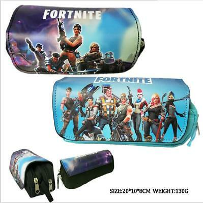 Game Fortnite Battle Royale Print Pencil Case Pen Stationery Bag School Supplies