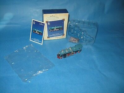 Hallmark Keepsake Ornament Lionel Blue Comet 400E Steam Locomotive