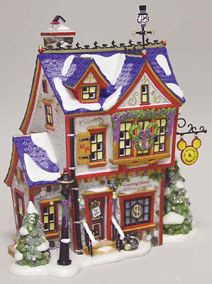Dept 56 North Pole Disney SCROOGE McDUCK MARLEY'S COUNTING HOUSE #56900 *Mint*