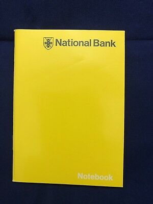 Pack of (20) Vintage National Bank Yellow Memo Booklet. Circa.1970's.