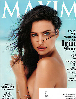Maxim Magazine July August 2014 Irina Shayk Hercules Holland Roden Julie Gonzalo