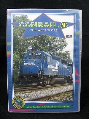 """20090 Train Video Dvd """"conrail Vol. 1.  The West Slope"""