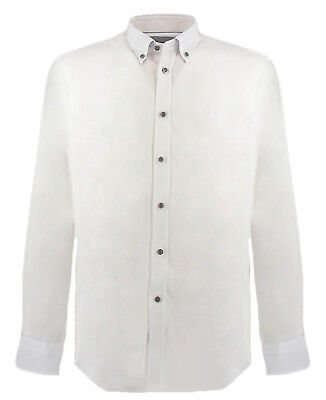 Down Bianca Camicia Uomo Uomo Camicia Button Camicia Down Uomo Bianca Button 0On8wPkX