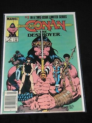 Conan The Destroyer #2 - Arnold Schwarzenegger March 1985 MARVEL Comics