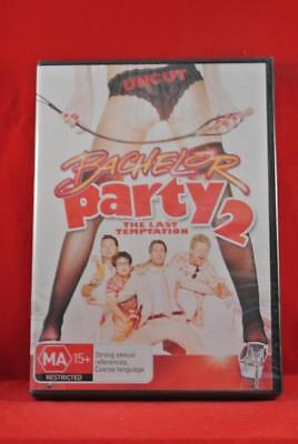 NEW - BACHELOR PARTY 2 - THE LAST TEMPTATION - DVD - Region 4