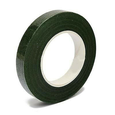 1 Roll Green Florist Stems Stretchys Wrap Floral Tape 12mm Wide Tape 25Yards AU