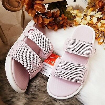 6eca71a09a51fb Nike NikeLab Benassi Duo Ultra Men s Slide   Pigalle Barely Rose Size 10
