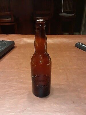 Franz Brothers brewing Freeport,il embossed beer bottle