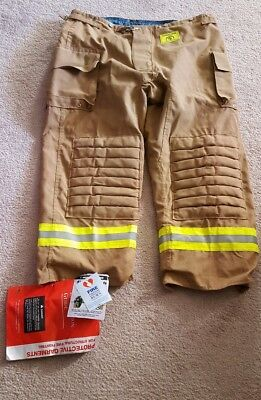 NWT! Morning Pride Firefighter Turnout Gear Bunker Pants 46X30