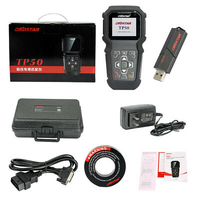 OBDSTAR TP50 Intelligent Detection TPMS Activation Reset & OBD2 Diagnostic Tool