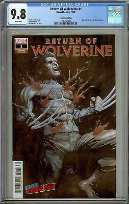 Return Of Wolverine #1 New York Convention Edition Cgc 9.8