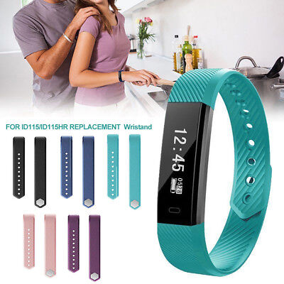 Replacement Silicone Smart Bracelet Band Wrist Strap for Veryfit ID115/Lite Call