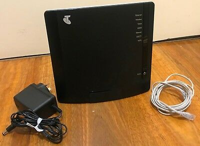 Telstra Technicolor Tg797N V3 Adsl2  Wireless Router Modem Voip Gateway With Emb
