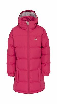 Trespass Girl's Tiffy Padded Insulated Jacket Raspberry Size 5/6
