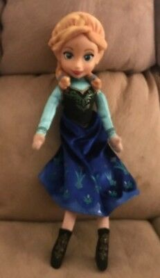 """Anna Of Arendelle Frozen 15"""" Plush Doll Disney Stuffed Animal Toy By Just Play"""