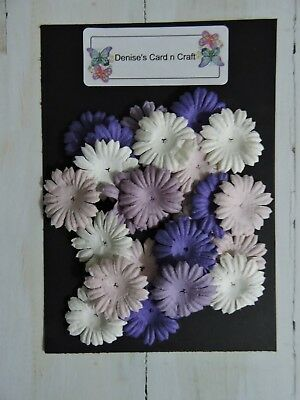 Paper Flowers - Small Purple