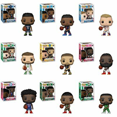 FUNKO POP NBA Vinyl Figure - Harden, Curry, Westbrook, Irving, Hayward IN STOCK