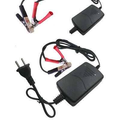 Mini Battery Charger 12V 1A Volt Trickle RV Car Truck Motorcycle Mower