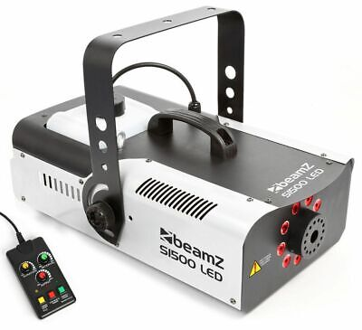 BeamZ S1500 DMX Nebelmaschine 1500 Watt LED RGB 3in1