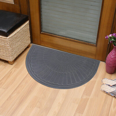 Half Round Door Mat Entrance Rug Floor Mats Waterproof Shoes Ser