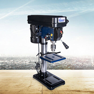 """10"""" Bench Mount Drill Press 12 Speed - Table Rotates 360° & Tilts 45° Left & Rig"""