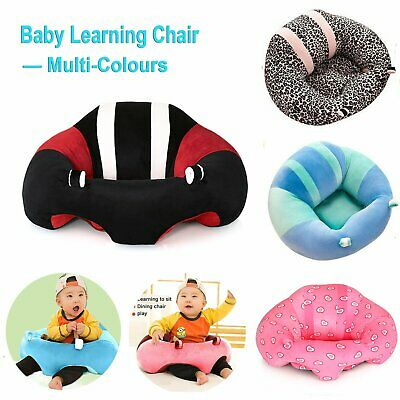 Baby Support Seat Soft Chair Cushion Sofa Plush Pillow For 0 to 5 Years Old Kids