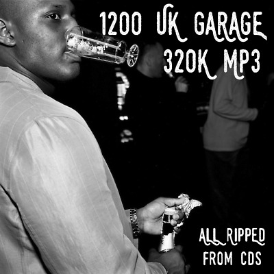 Ultimate UK Garage Collection: 1200 320K MP3 UKG & 2-Step Tracks