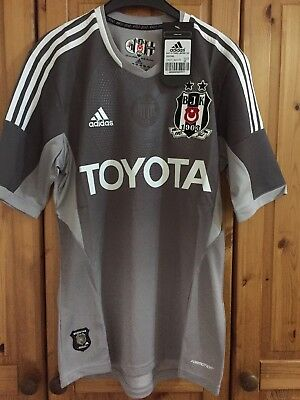 BESIKTAS TURKEY THIRD FOOTBALL SHIRT JERSEY TRIKOT ADIDAS  BNWT size M