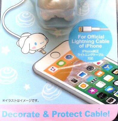 New SANRIO Cinnamoroll Cute Lightning Cable cover Bite protect accessory