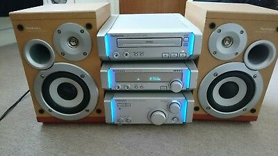 Technics SC-HD505 HiFi Stereo System Amplifier CD Tuner Speakers