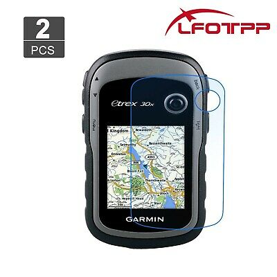 2PCS Garmin GPS Screen Protector eTrex 10 20x 30x Tempered Glass ANTI-OIL 2.3In