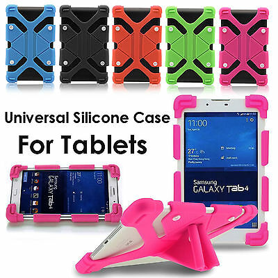 """For Lenovo Tab E7 TB-7104F 7"""" inch 2018 Universal Shockproof Silicone Case +Pen"""