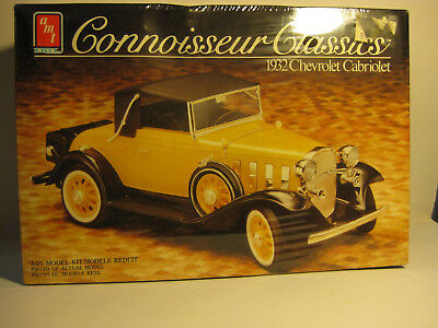 AMT1932 Chevrolet Cabriolet 1/25scale F/S kit skill 2 Connoisseur Classic Series