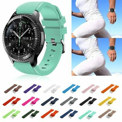 3 Piece/Set Silicone Sport Watch Band Strap For Samsung Gear S3 Classic/Frontier