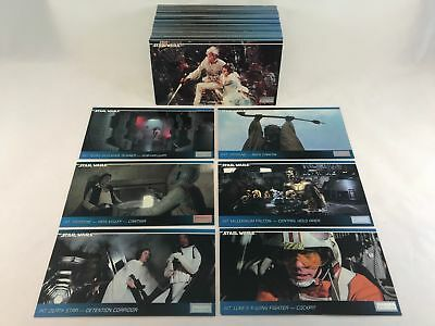 Star Wars ANH - Complete Widevision Card Set (120) Topps 1996 - NM