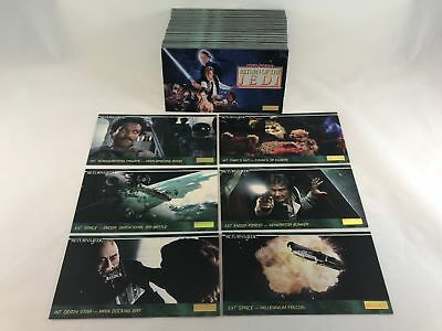 Star Wars Jedi - Complete Widevision Card Set (144) Topps 1995 - NM