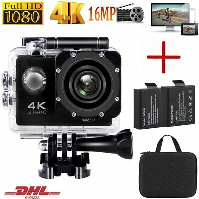 WIFI Ultra HD 4K Helm Kamera Aktion Cam Sports Camera Wasserdicht Camcorder DHL
