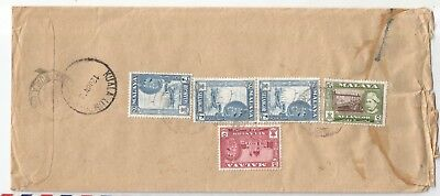 MALAYSIA SELANGOR 1963 High Value REGIST cover from KL to UK