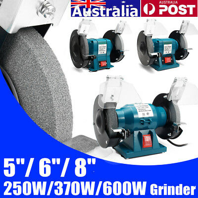 5''/6''/8'' Mini Bench Grinder Polisher Drill 50Hz 250/370/600W ET-125/150/200