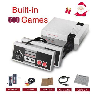 NES Mini Classic Edition Games Console with 500 Classic NES Games Christmas gift