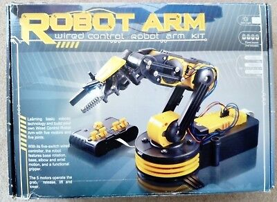 Thumbs Up Build Your Own Robot Arm Self Assembly Kit in Excellent Condition