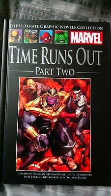 Marvel Graphic Novel Collection:Time Runs Out Part Two Issue 105
