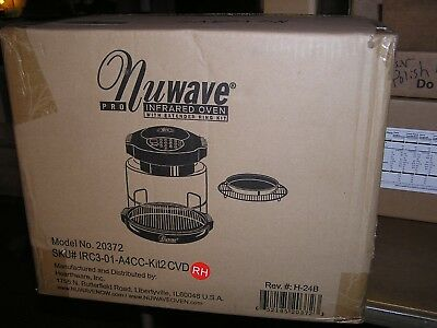 Hearthware Home NuWave Pro Infrared Oven Model 20372 with Extender Ring Kit NEW!