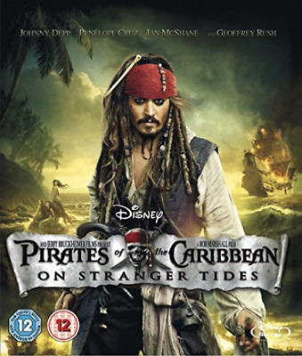Ian McShane, Johnny Depp-Pirates of the Caribbean: On Stranger Tide Blu-ray NEUF