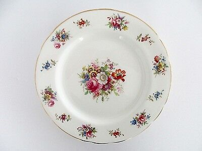 Set of 6, Hammersley & Co England Bone China Minuet Luncheon Plates, Vintages