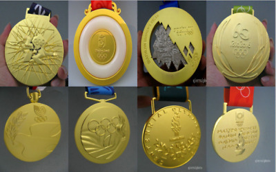 8 piece Olympic Gold Medals-1988/1996/2000/2004/2008/2012/2016/1992