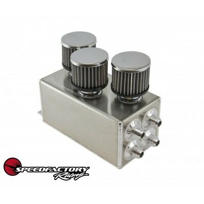 Speedfactory Racing Catch Can Battery Location With 3 Filters