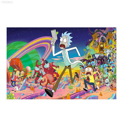 9558 Cartoon Silk Poster Print 60X40cm Characters Art Poters Decoration Ornament