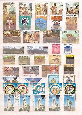 Sri Lanka  -  Lot Of Stamps And Sheets