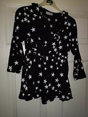 Girls Age 6 Star Print Playsuit